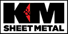 K&M Sheet Metal and Gutter Supply Logo