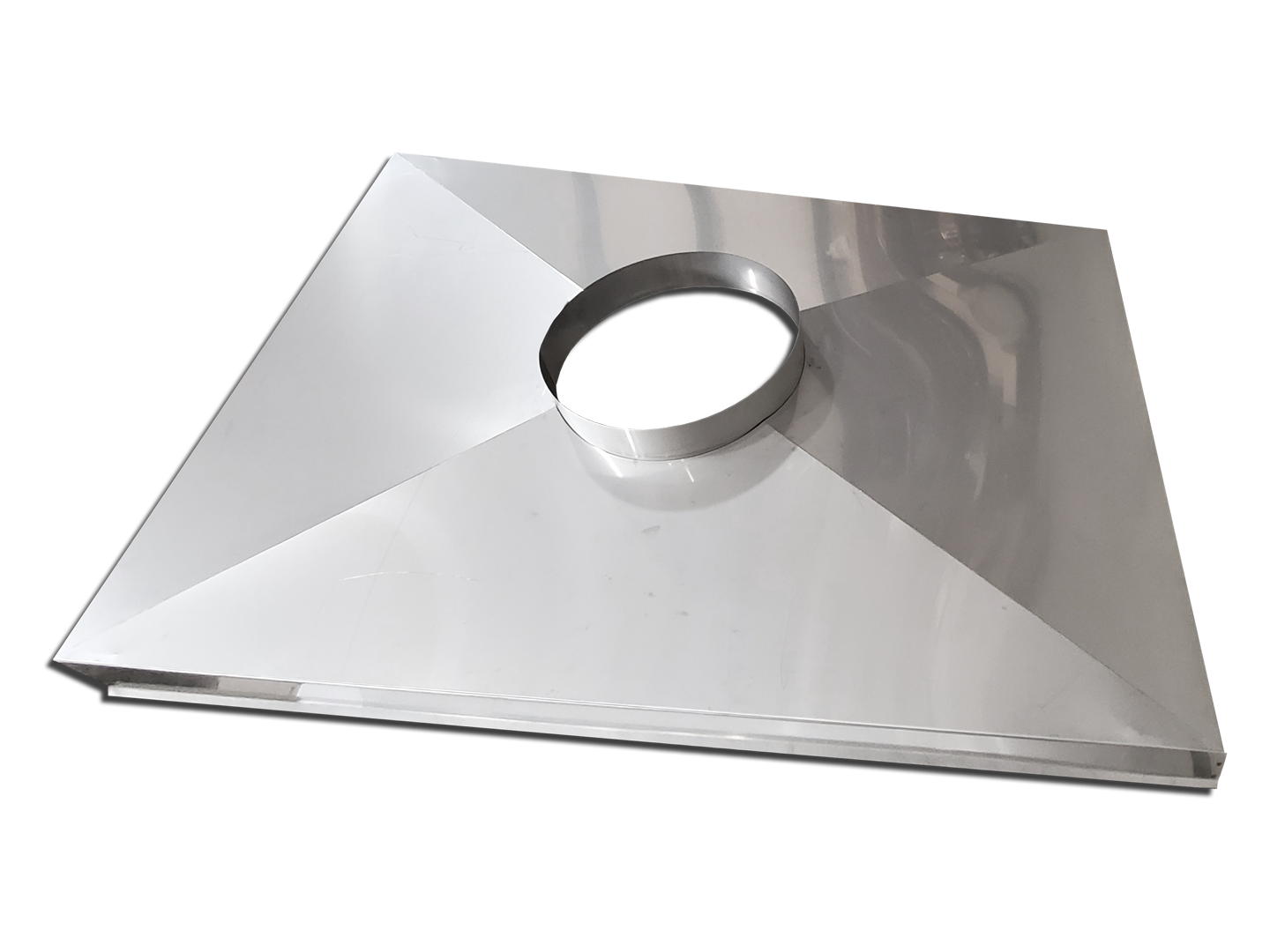 #CC200 - Stainless steel chimney chase cover