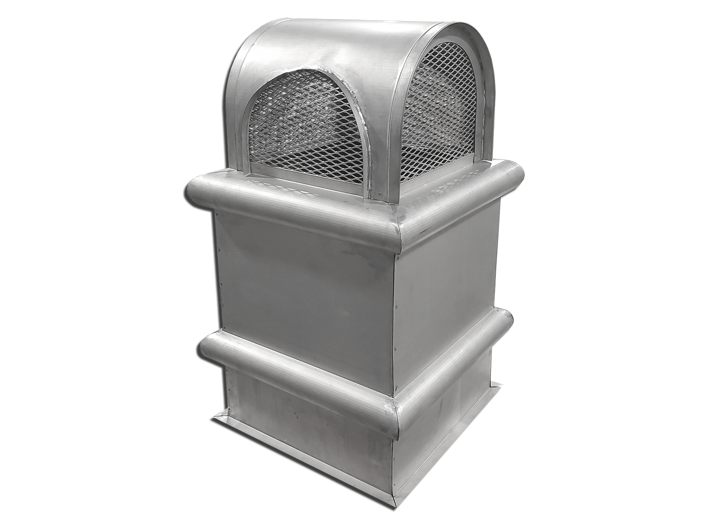 #CC300 - Round roof chimney top - stainless steel