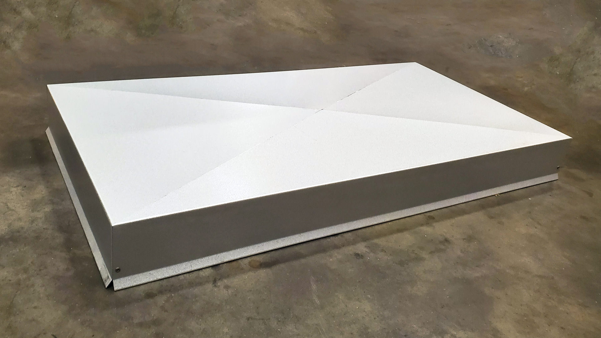 Galvalume chimney pad cover - non functional