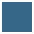 Slate blue aluminum and galvanized steel
