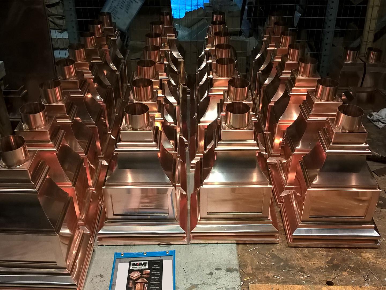 Custom copper conductor heads