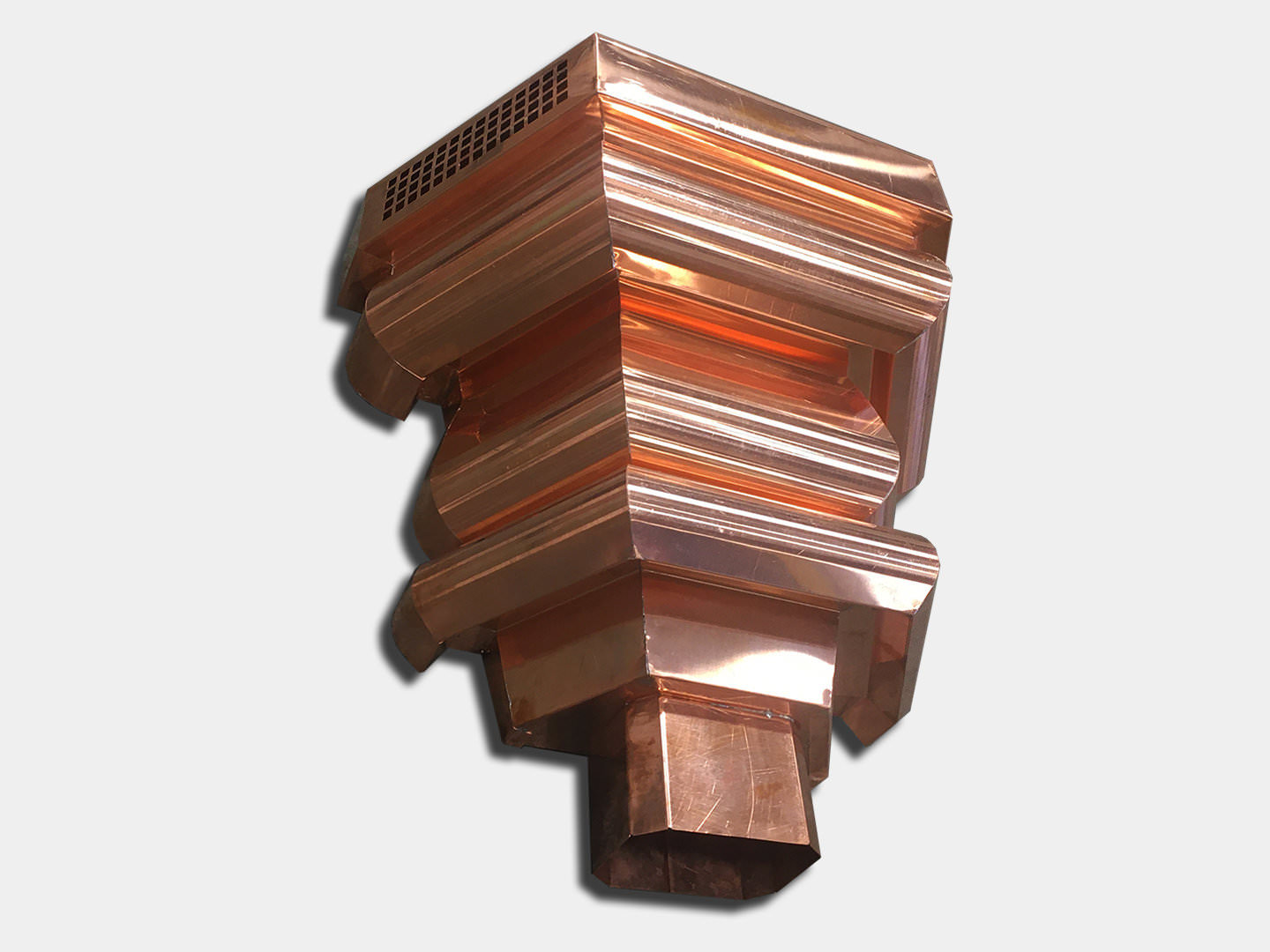 Premium: The Brentwood Copper Conductor Head / Leader Head