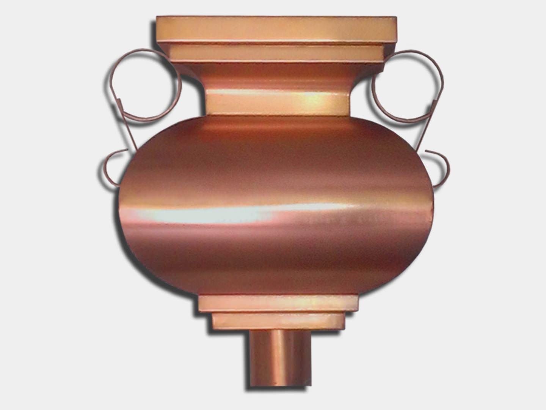 Premium: The Budha Copper Conductor Head / Leader Head