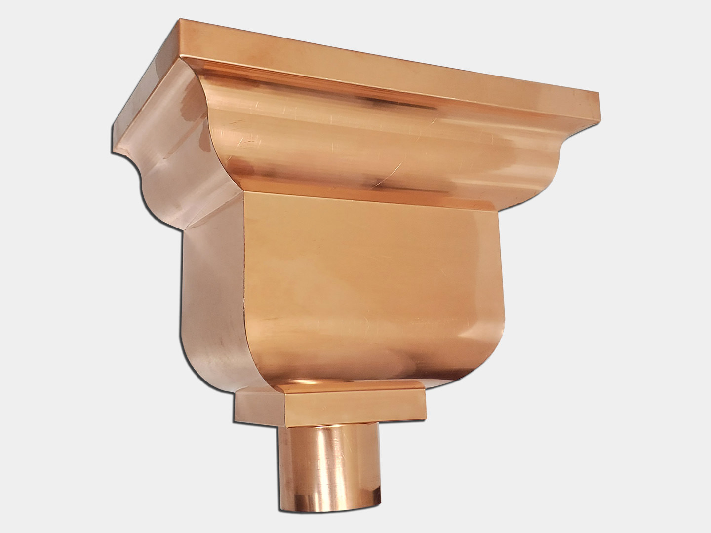 The economy residential conductor head - copper