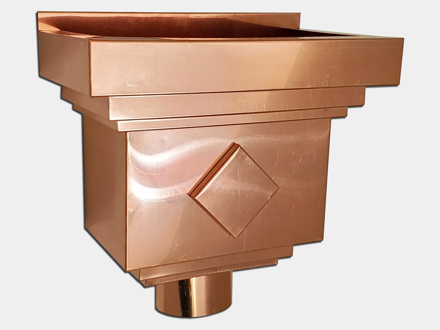 Traditional Koeleveld Conductor Head in Copper
