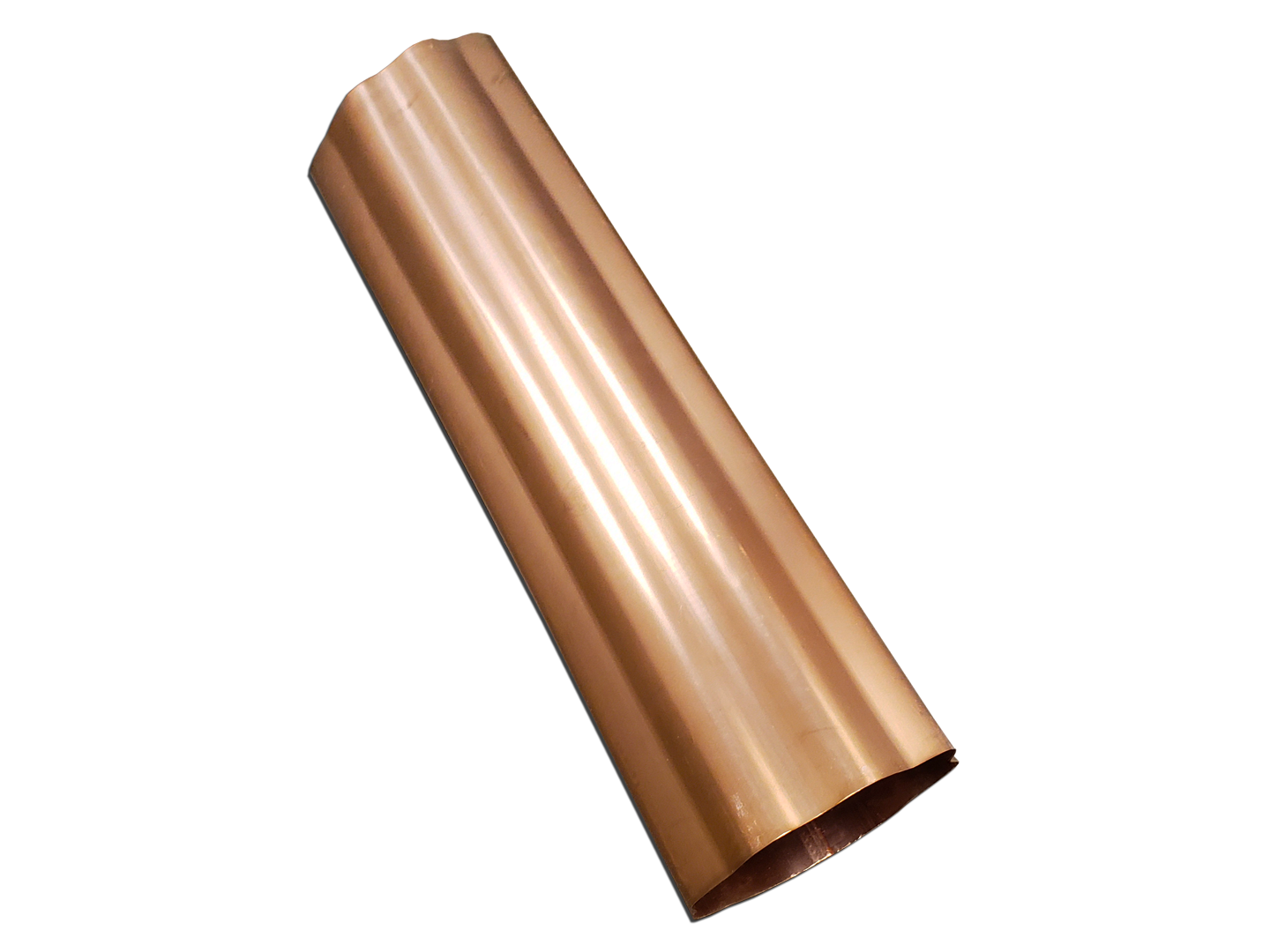 Downspouts - Square, Round, Plain, Corrugated, Smooth