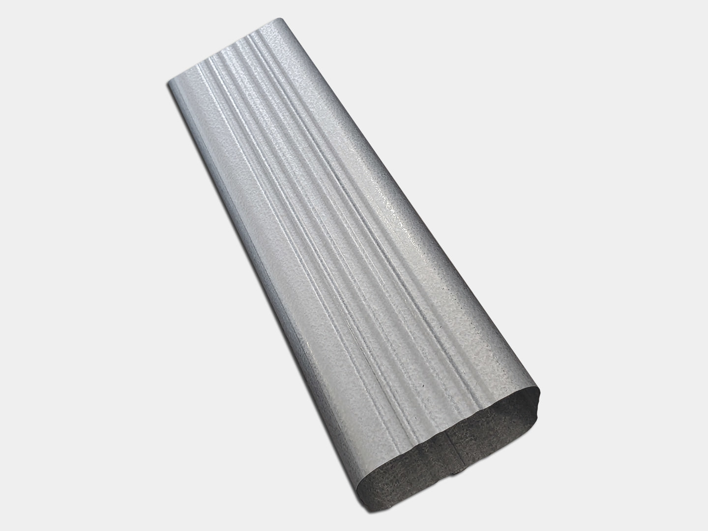 Square Corrugated Galvalume Plus Downspout