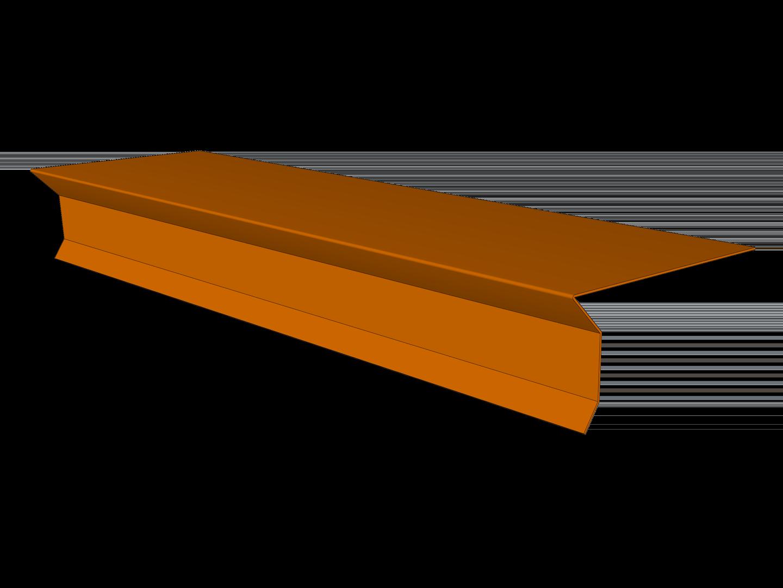 D-Style Shingle Roof Drip Edge