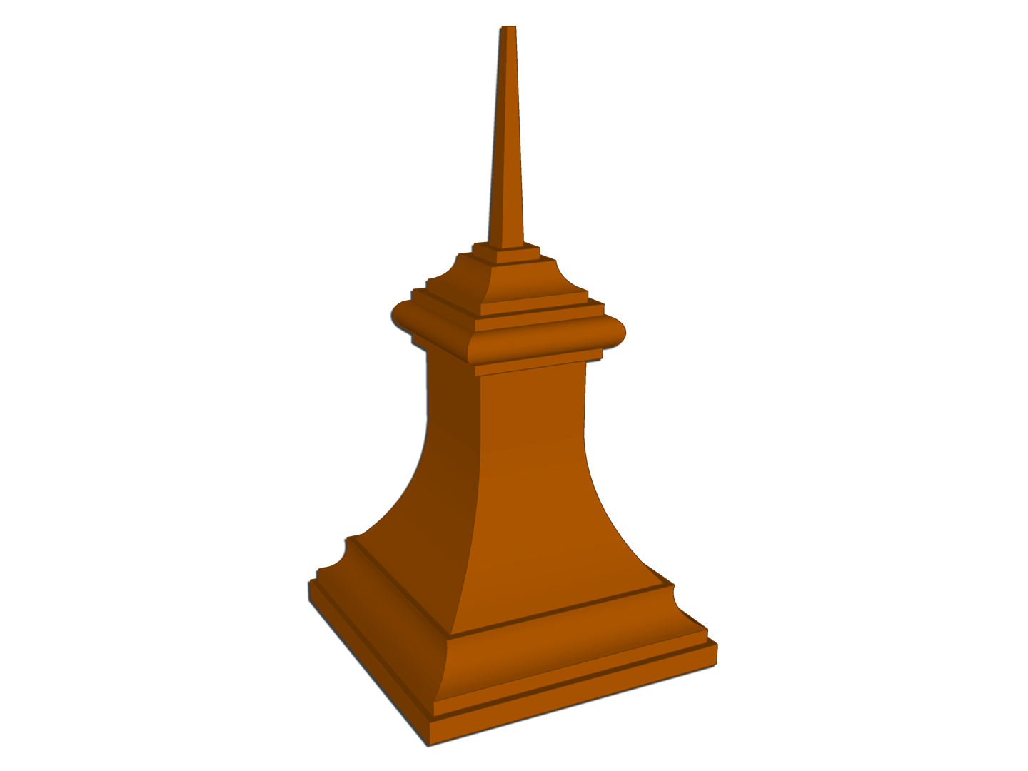 The Buckingham Finial