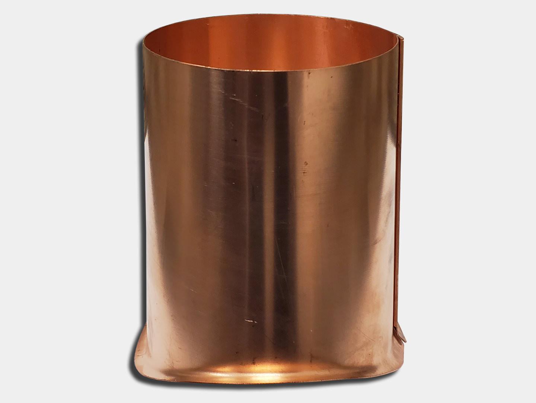 Half Round Gutter Copper Outlet