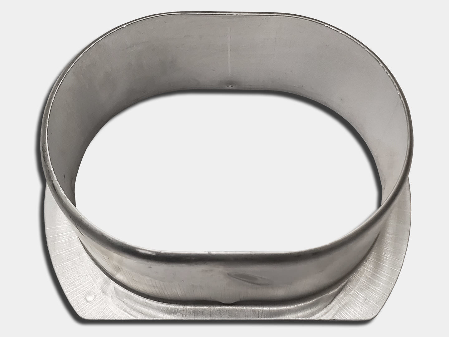 Oval Outlet for square and round downspout - aluminum