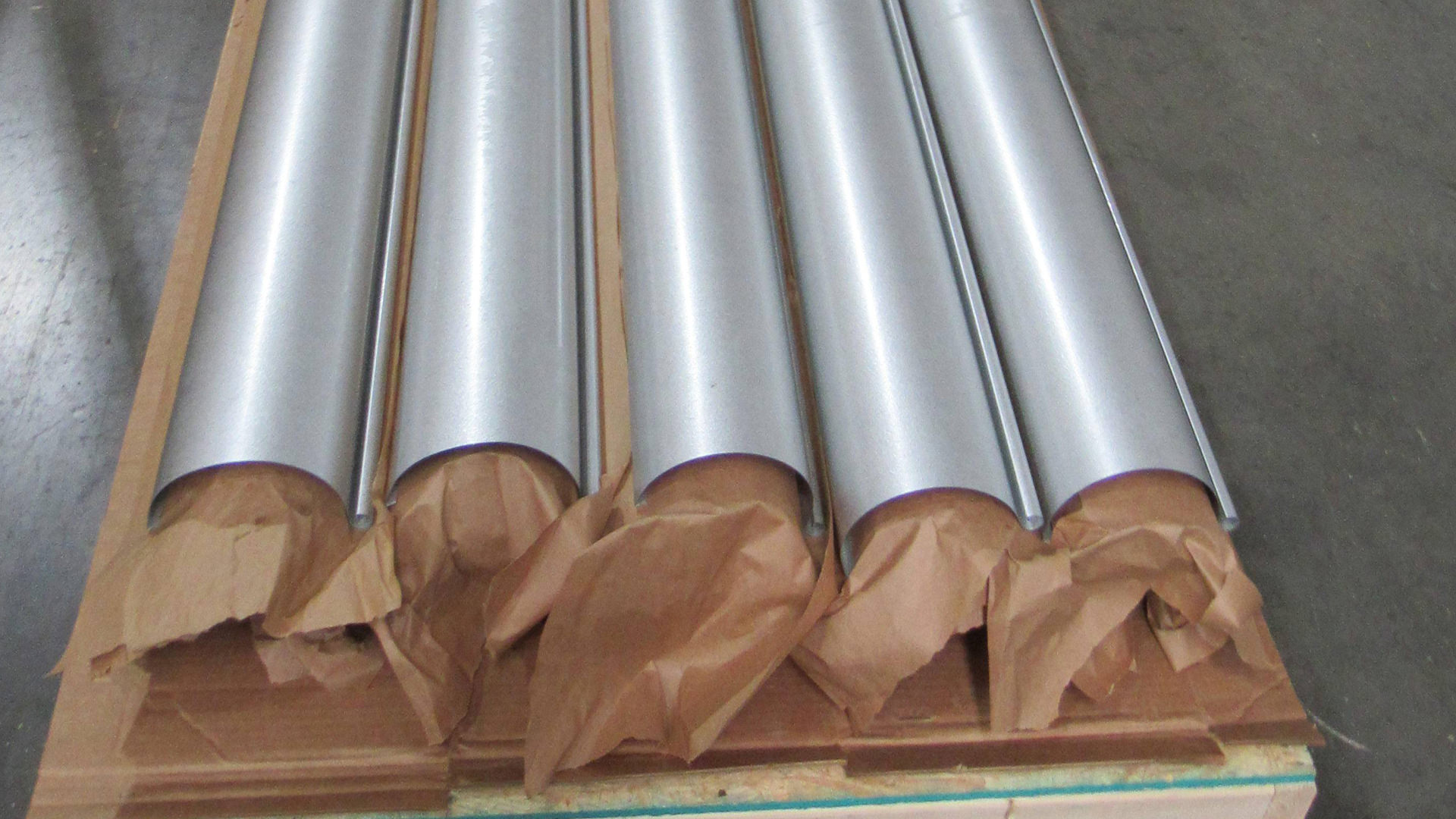Galvalume plus Euro bead half-round gutters - shipped