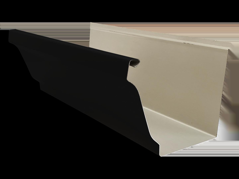 K-style steel gutter