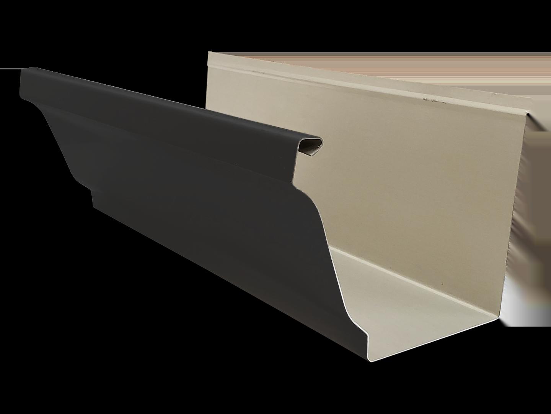 K-style aluminum gutter